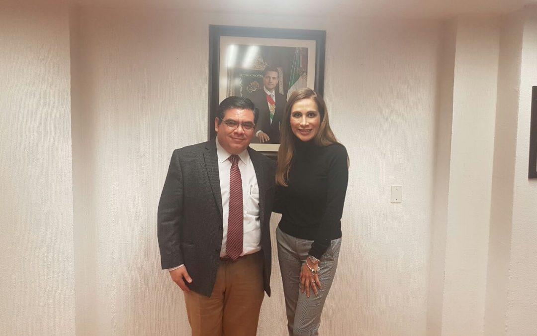 Reunión con la directora de la APBP