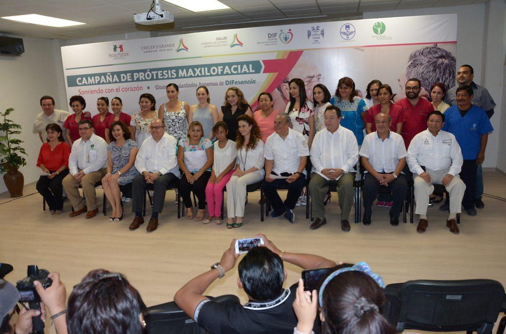 Inauguración de la Campaña de Prótesis Maxilofacial 2017