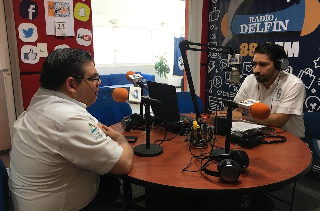 Gira de medios en Ciudad del Carmen