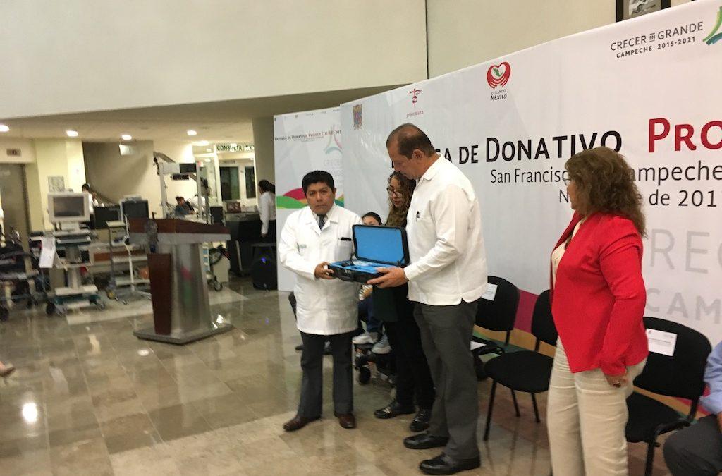Entrega de donativo 2017 de la Fundación Project C.U.R.E.