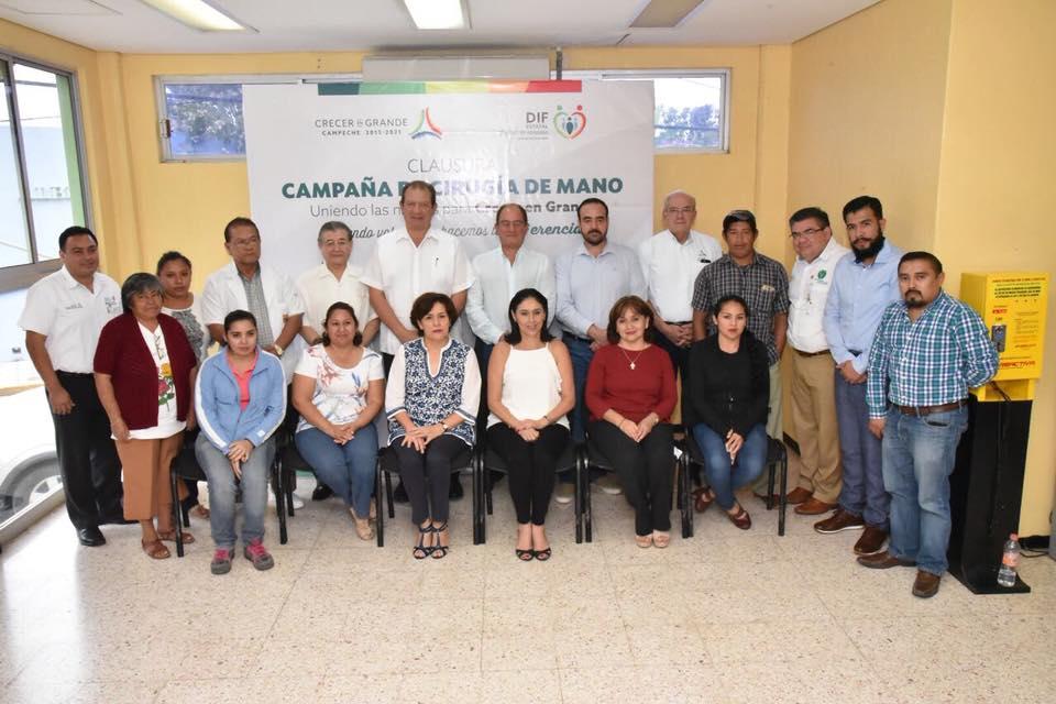 """Clausura del programa 2017 de """"Cirugía de mano"""""""
