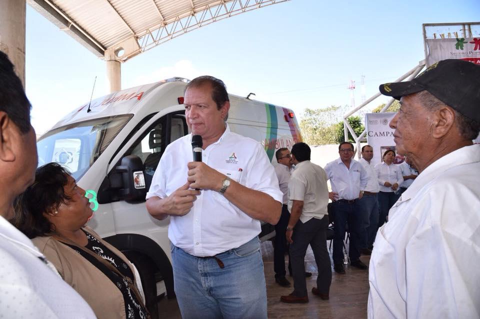 Gira de trabajo a la comunidad de Felipe Carrillo Puerto, Champotón
