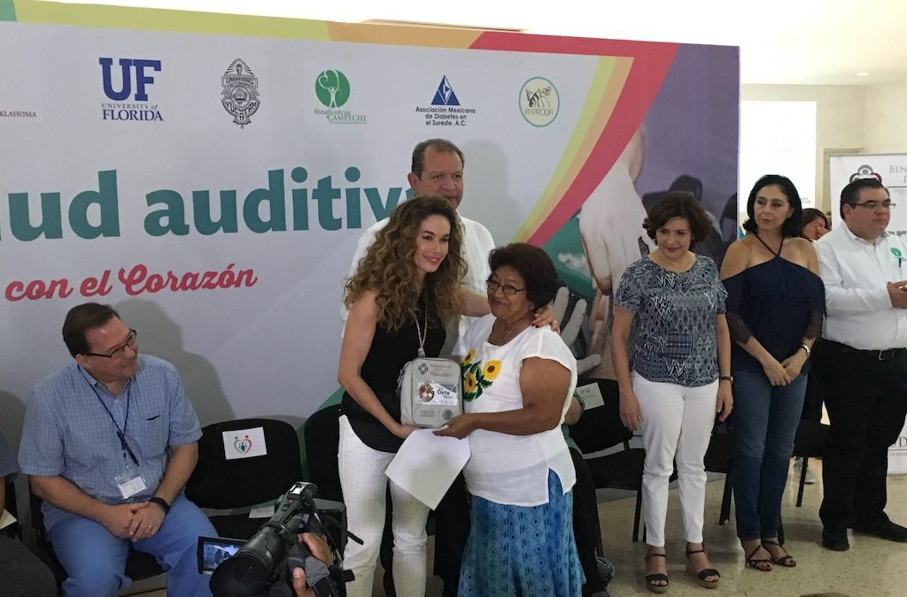 """Entrega de auxiliares auditivos del programa federal """"Para oírte mejor"""" 2018"""
