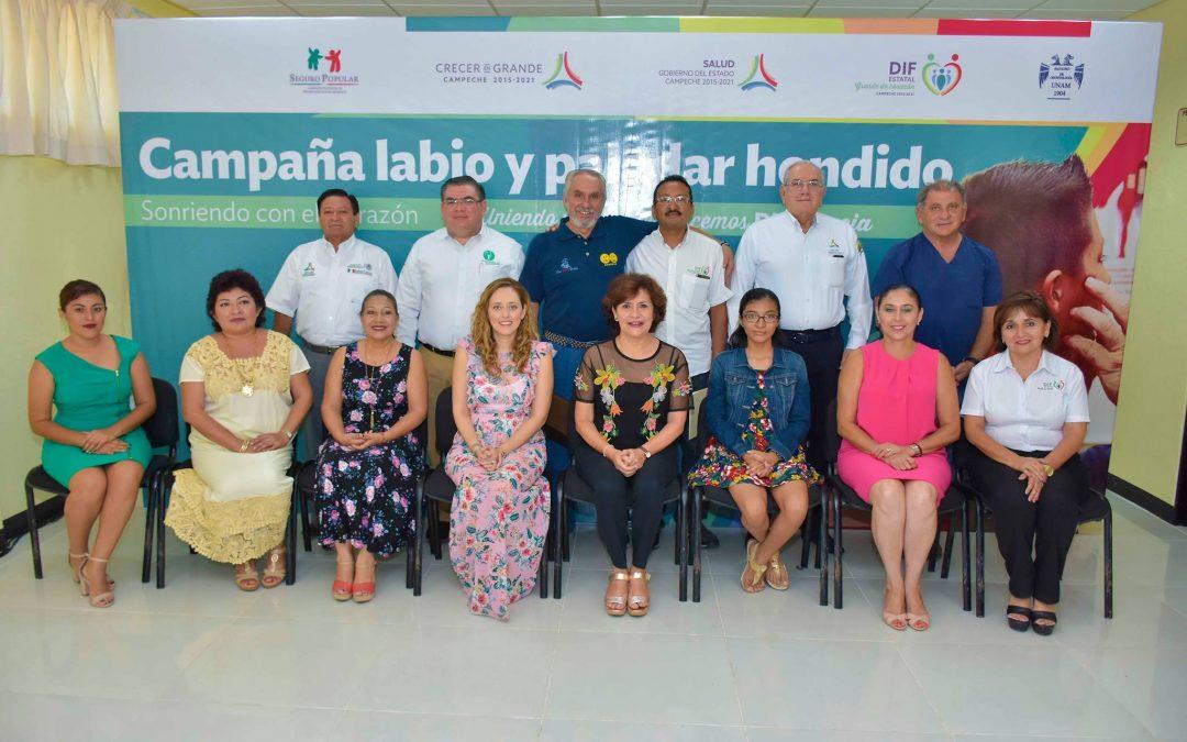 Clausura de la 2a. Campaña 2018 de Cirugía de Labio y Paladar Hendido