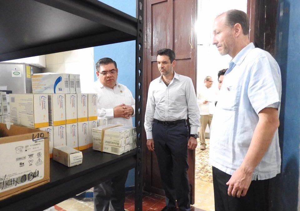 Visita del Director General de APBP