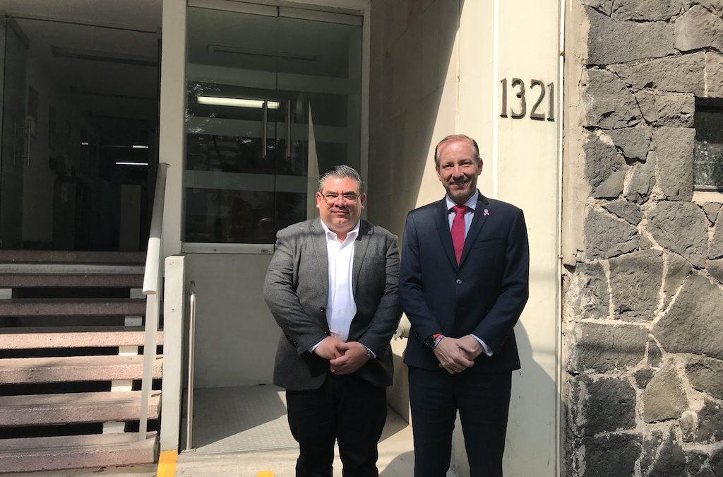 Visita al Director de la APBP Federal
