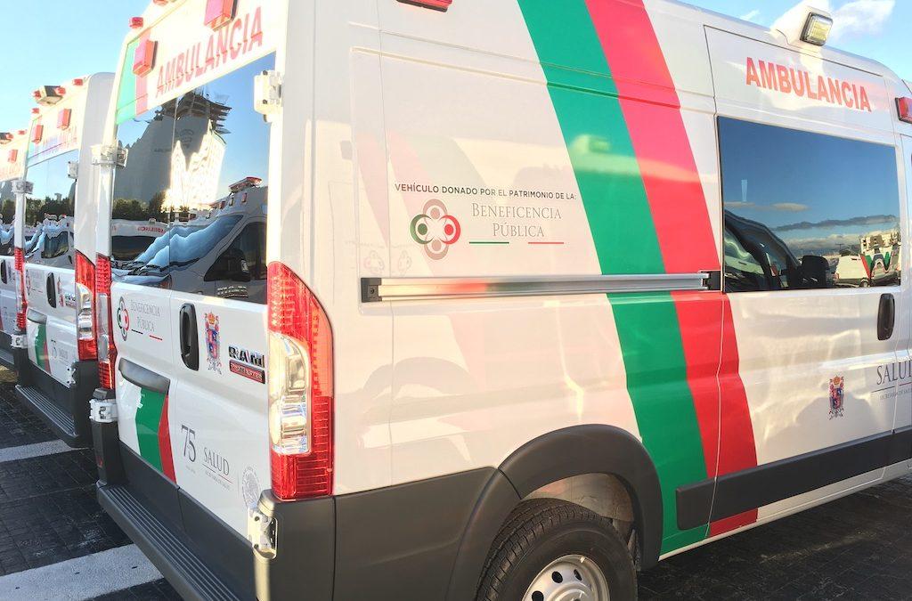 Entrega nacional de Ambulancias