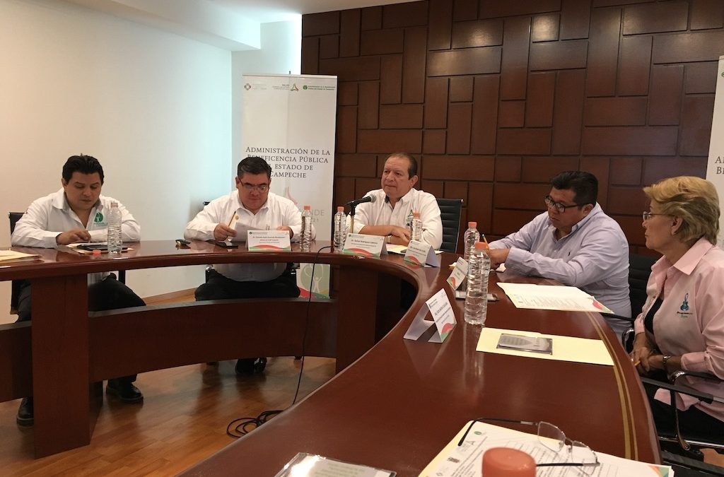 Informe de actividades 2018 de la ABP Campeche