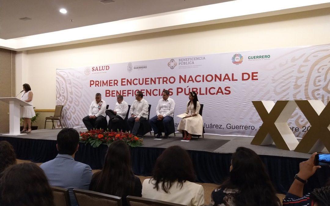 Primer Encuentro Nacional de Beneficencias Públicas