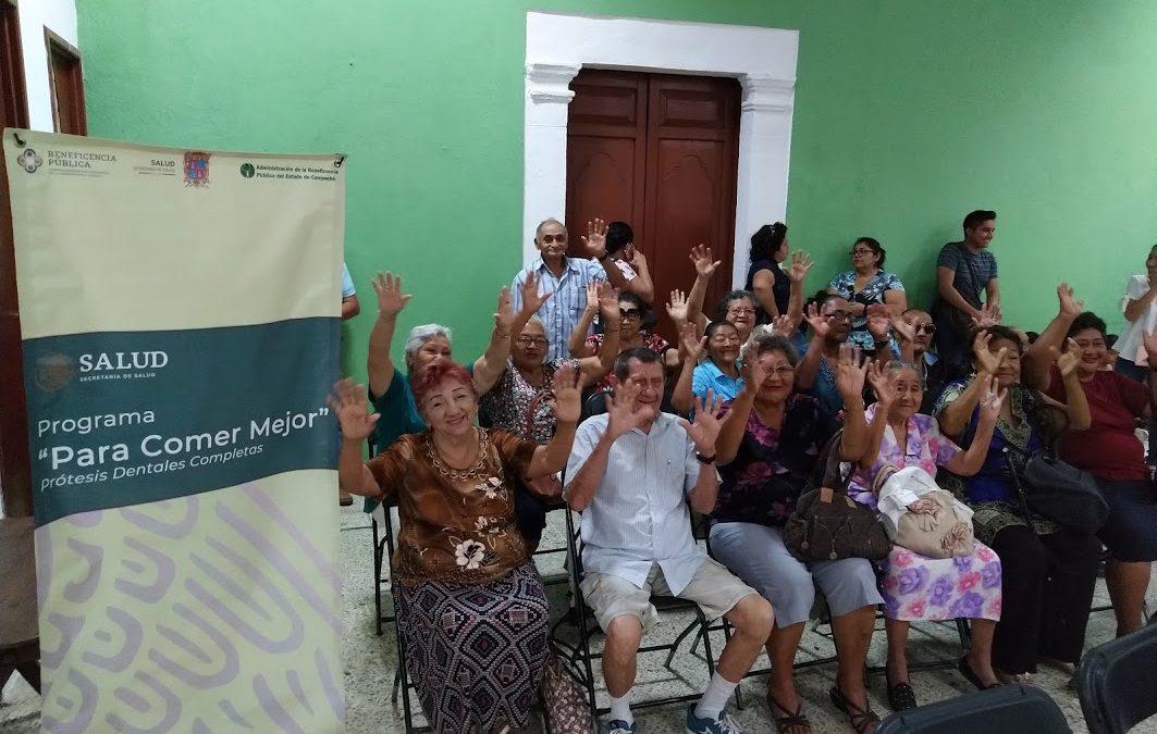 Entrega de beneficios del programa «Para comer mejor» 2019