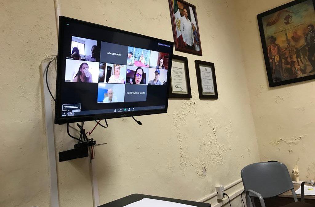 Videoconferencia con Beneficencias Públicas
