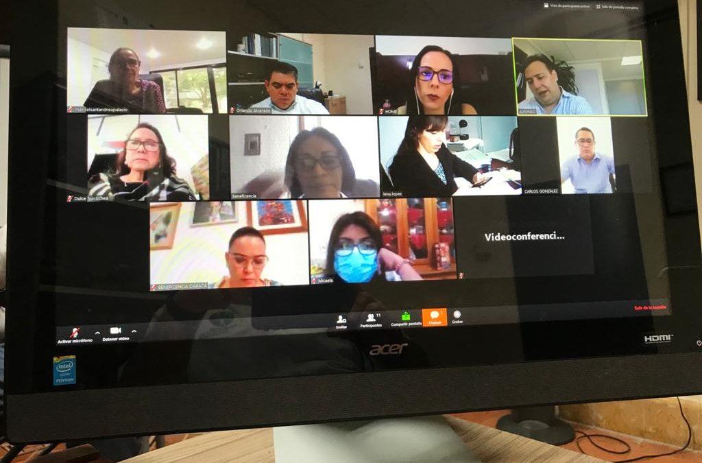Videoconferencia con Beneficencias Estatales y APBP