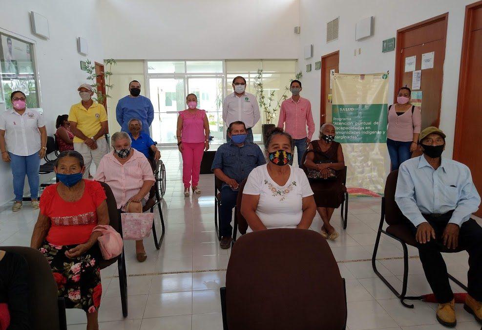 Segunda valoración de prótesis dentales en el municipio de Calakmul