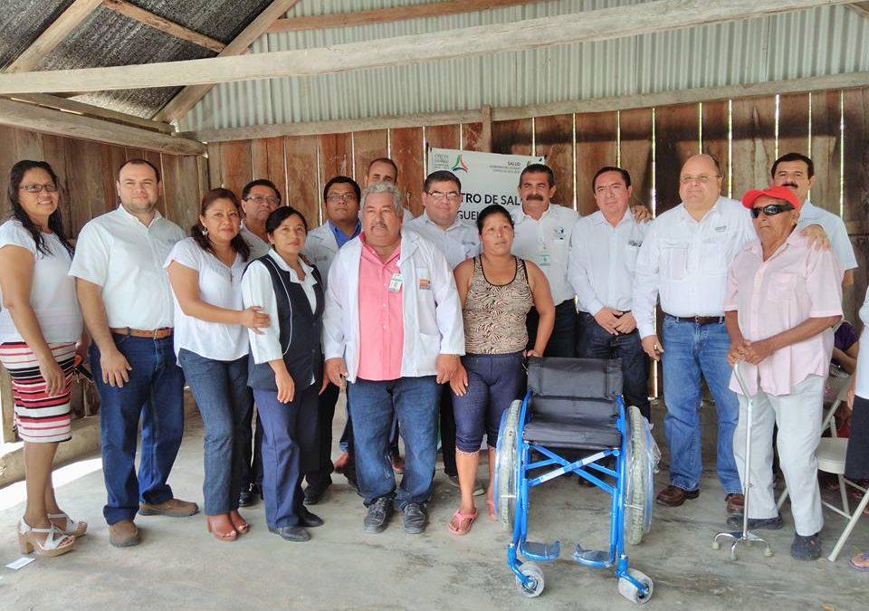 Entrega de sillas de ruedas en Candelaria