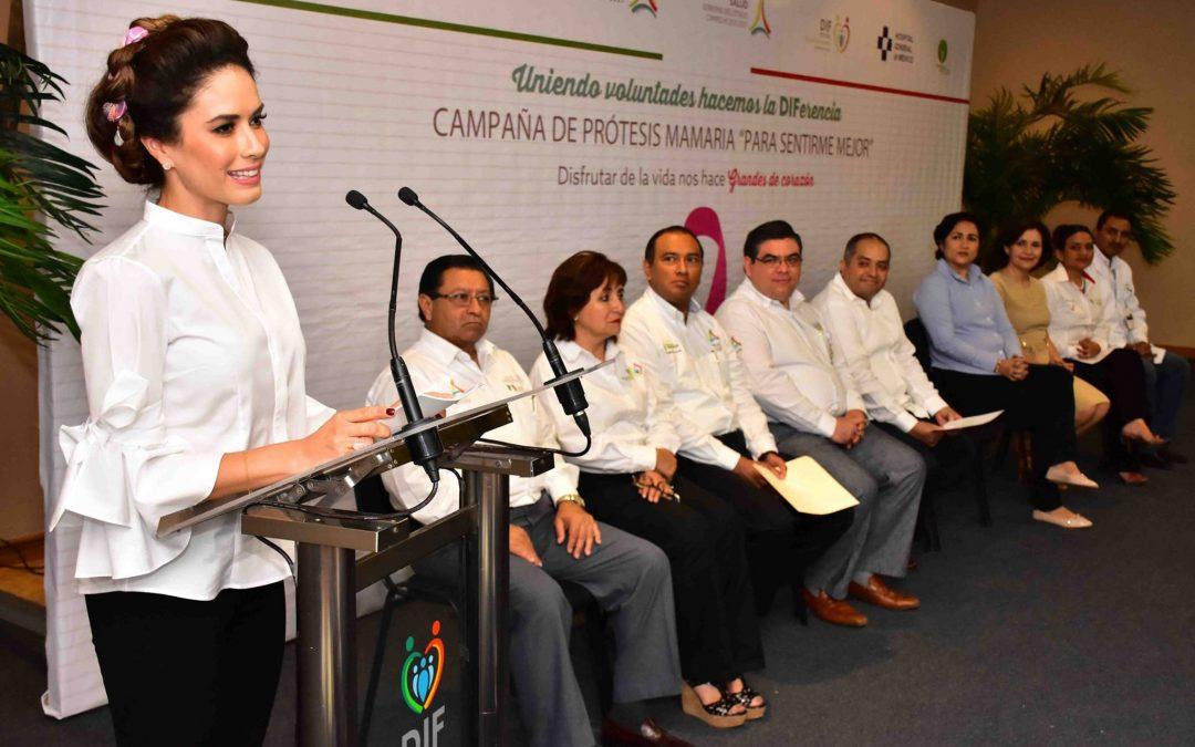 Inauguración de la campaña «Para sentirme mejor»