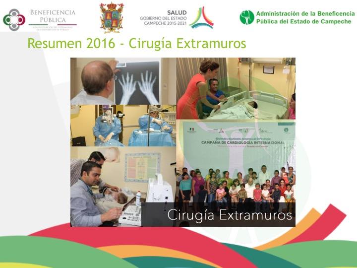 Resumen 2016 – Cirugía Extramuros