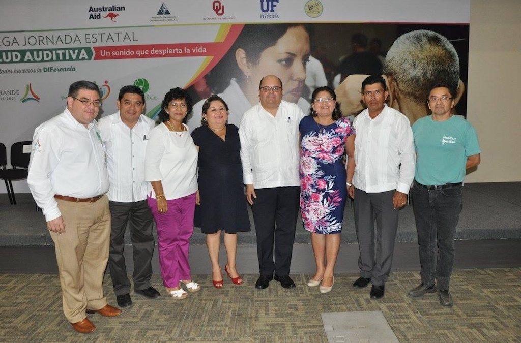 1ra. Mega Jornada Estatal de Salud Auditiva «Un sonido que despierta la vida»
