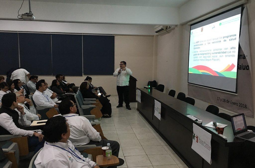 Asistencia al curso de Actualización de programas de la Secretaría de Salud