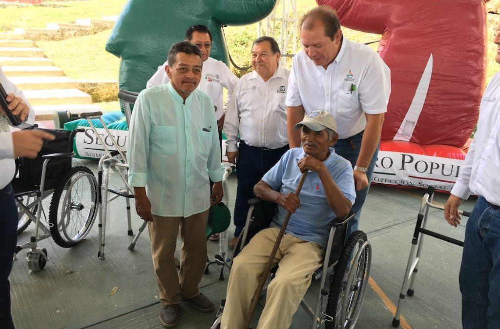 Visita de trabajo a la comunidad de Centenario