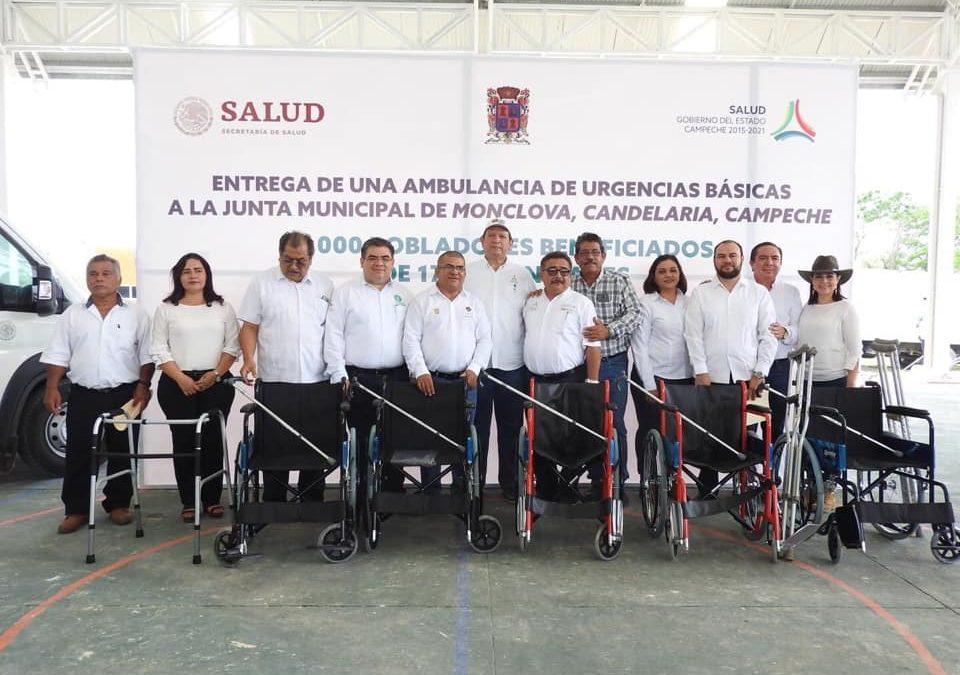 Gira de trabajo del Secretario de Salud al municipio de Candelaria