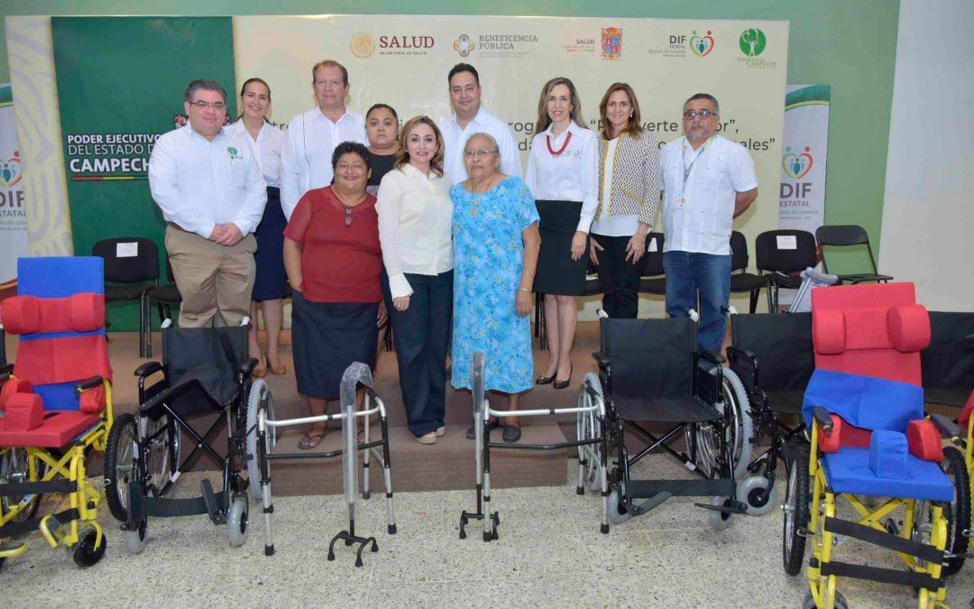 Entrega de beneficios del programa «Una rodada de vida y apoyos funcionales» 2019
