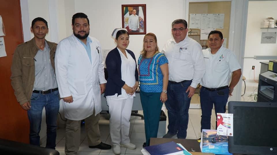 Reunión de trabajo en el municipio de Calakmul
