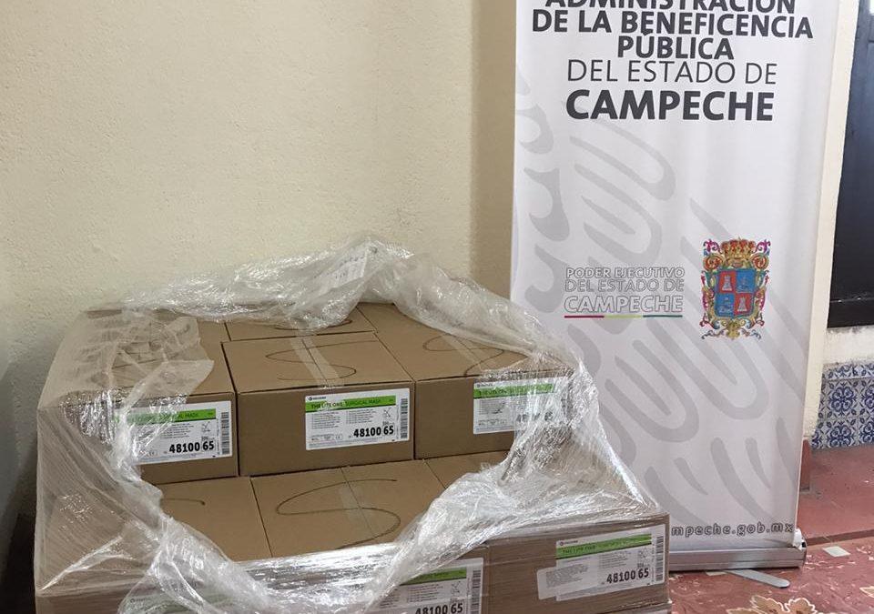 Donativo de 10 mil cubrebocas a la Secretaría de Salud Estatal
