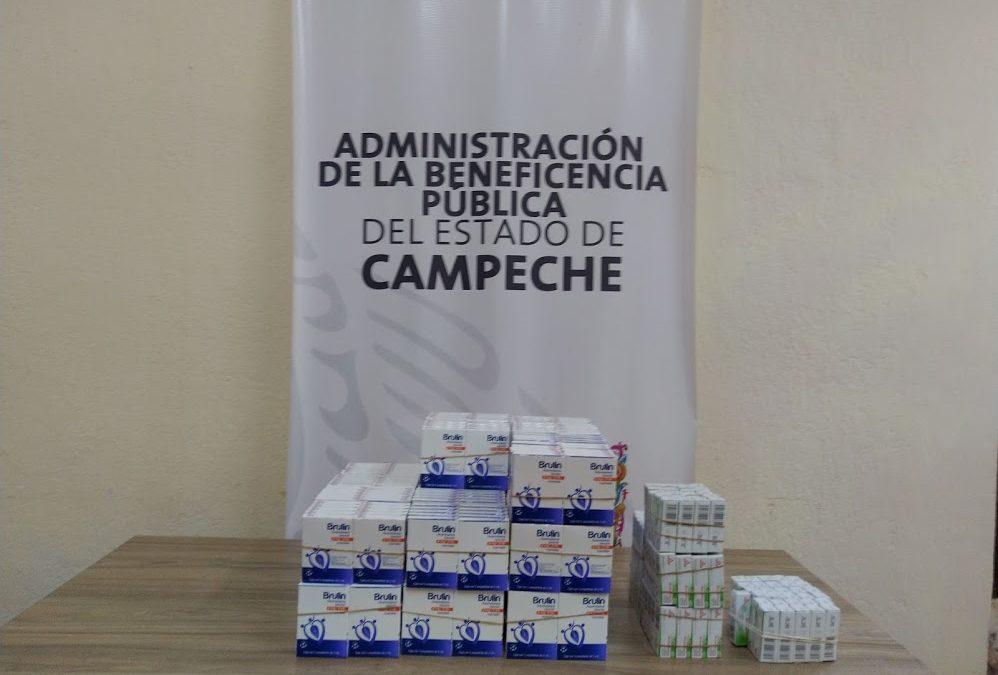 Donación de medicamentos al Hospital «Dr. Manuel Campos»