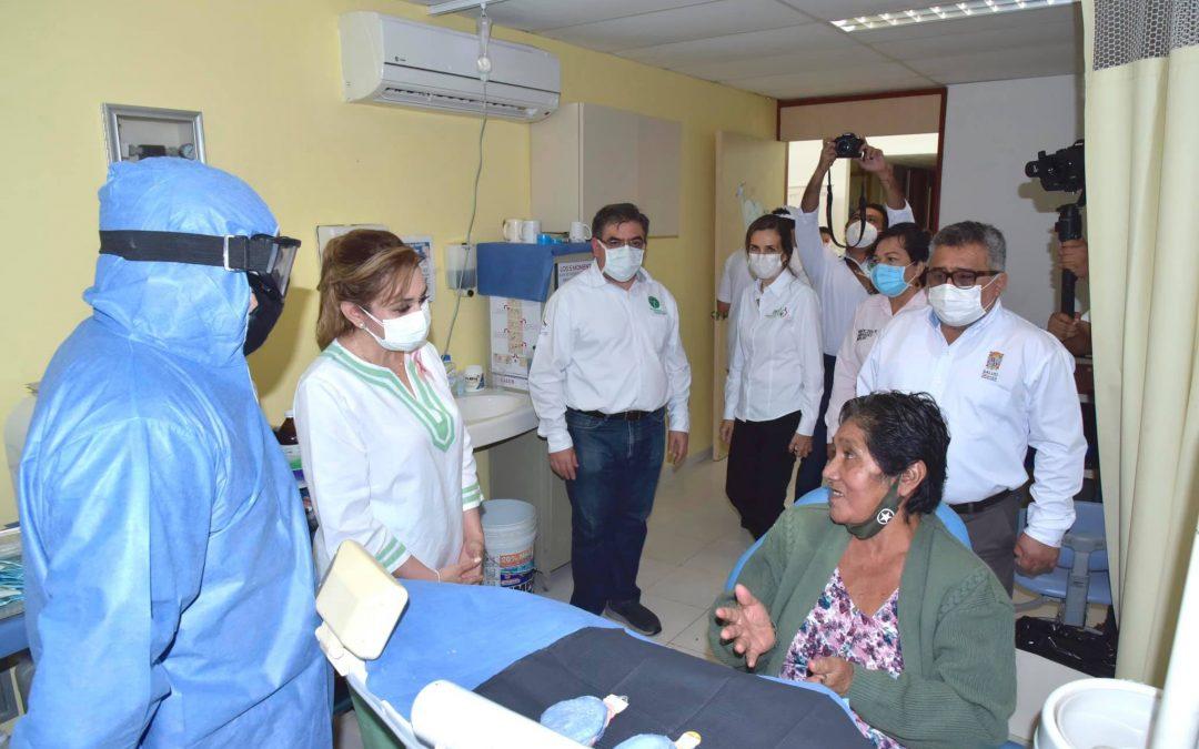 Jornada de valoraciones de la acción de Prótesis Dentales en Palizada