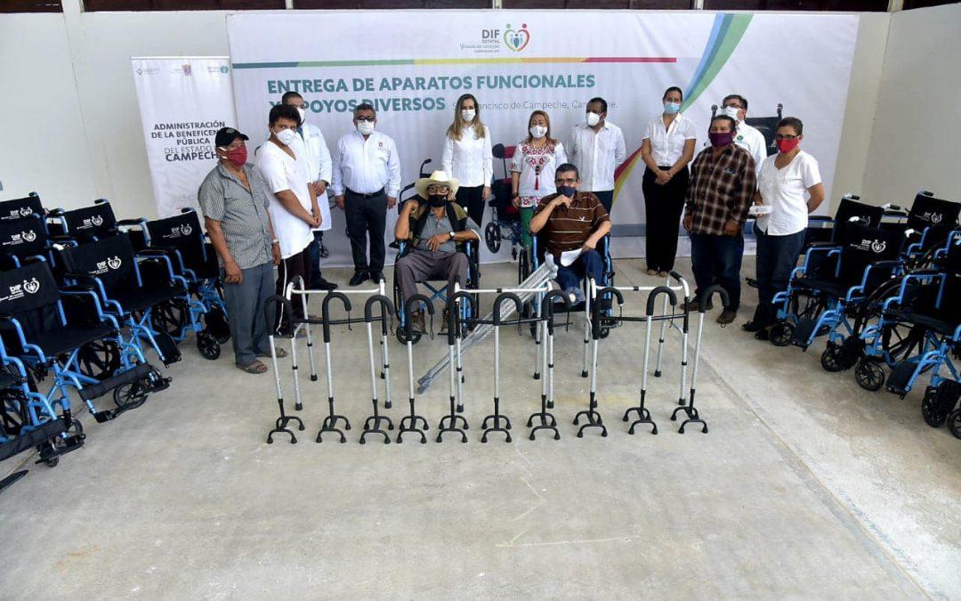 Tercera jornada de acciones en el municipio de Calakmul