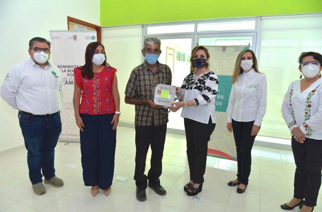Entrega de Auxiliares Auditivos en el municipio de Palizada