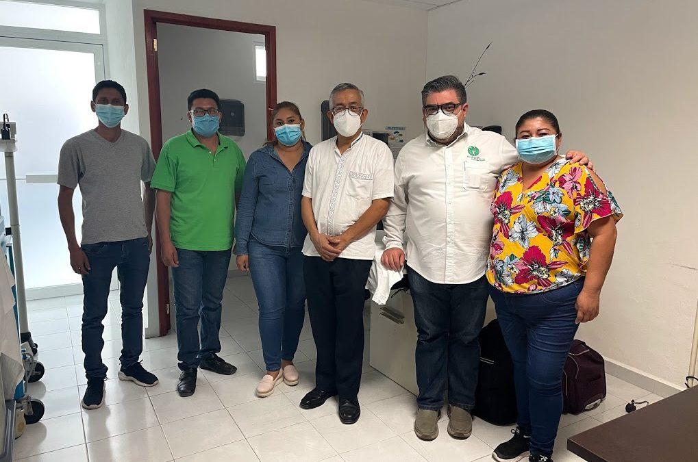 Entrega de beneficios en el municipio de Calakmul
