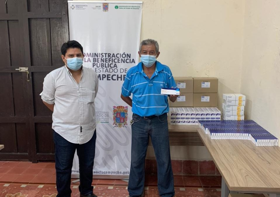 Donación de medicamentos COVID al Hospital «Dr. Manuel Campos»