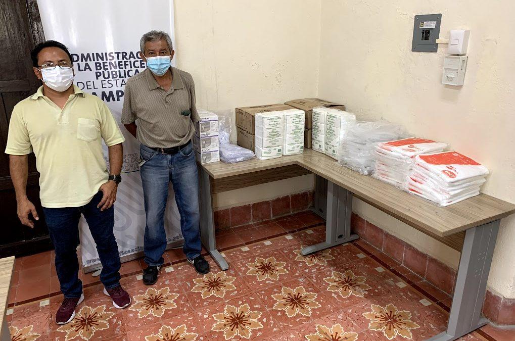 Donación de insumos al hospital «Dr. Manuel Campos»